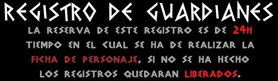 Registro de Guardianes R-gu