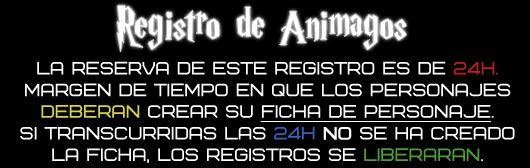 Registro de Animagos R1