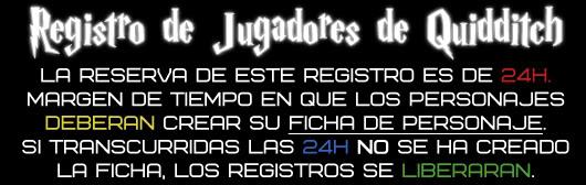 Registro de Jugadores de Quidditch R9