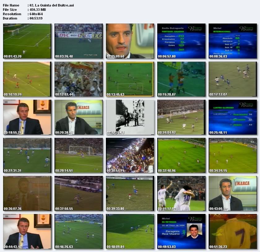 """Documental """"La Quinta del Buitre"""", una de las generaciones que mejor futbol ofrecio al madridismo 02-17"""