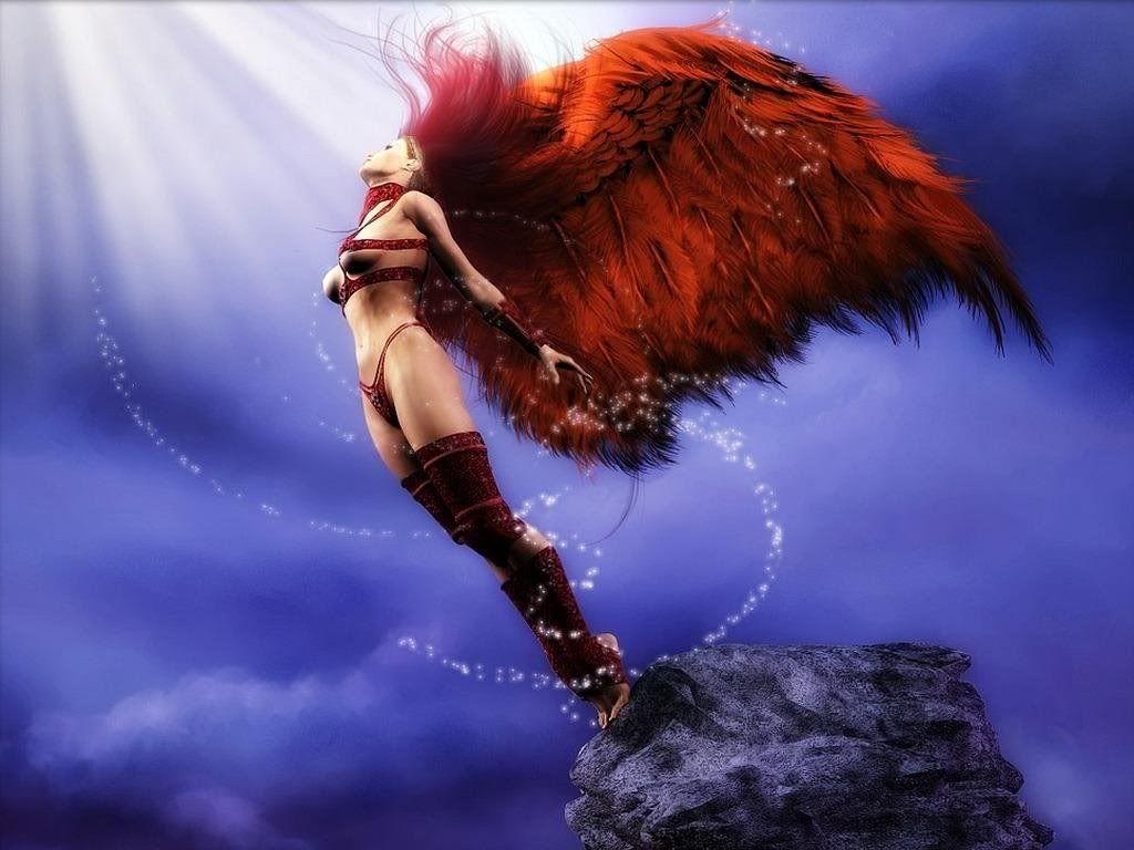 Fantasy art Fantasy-Woman