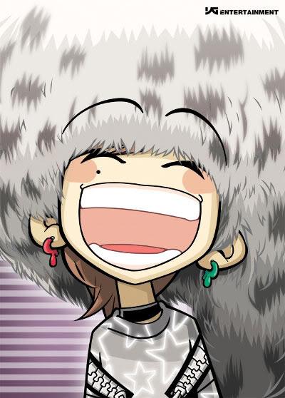 BigBang và các nhân vật hoạt hình Dragon