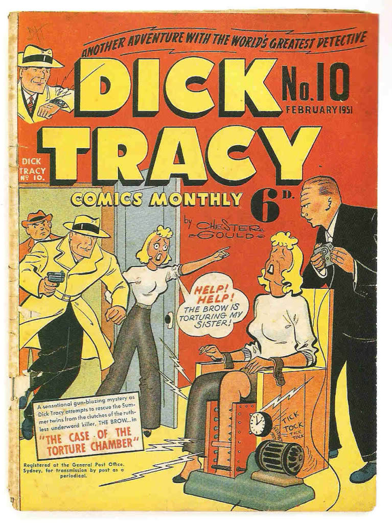 Dick Tracy(Dik Trejsi) Spoontracey