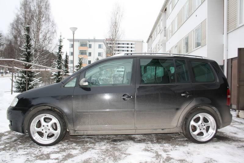 """VW Touran """"Geiler pampersbomber"""" 205"""