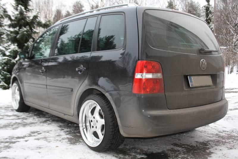"""VW Touran """"Geiler pampersbomber"""" 206"""