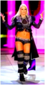 Layla & Michelle McCool Vs Maryse & Velvet Sky M