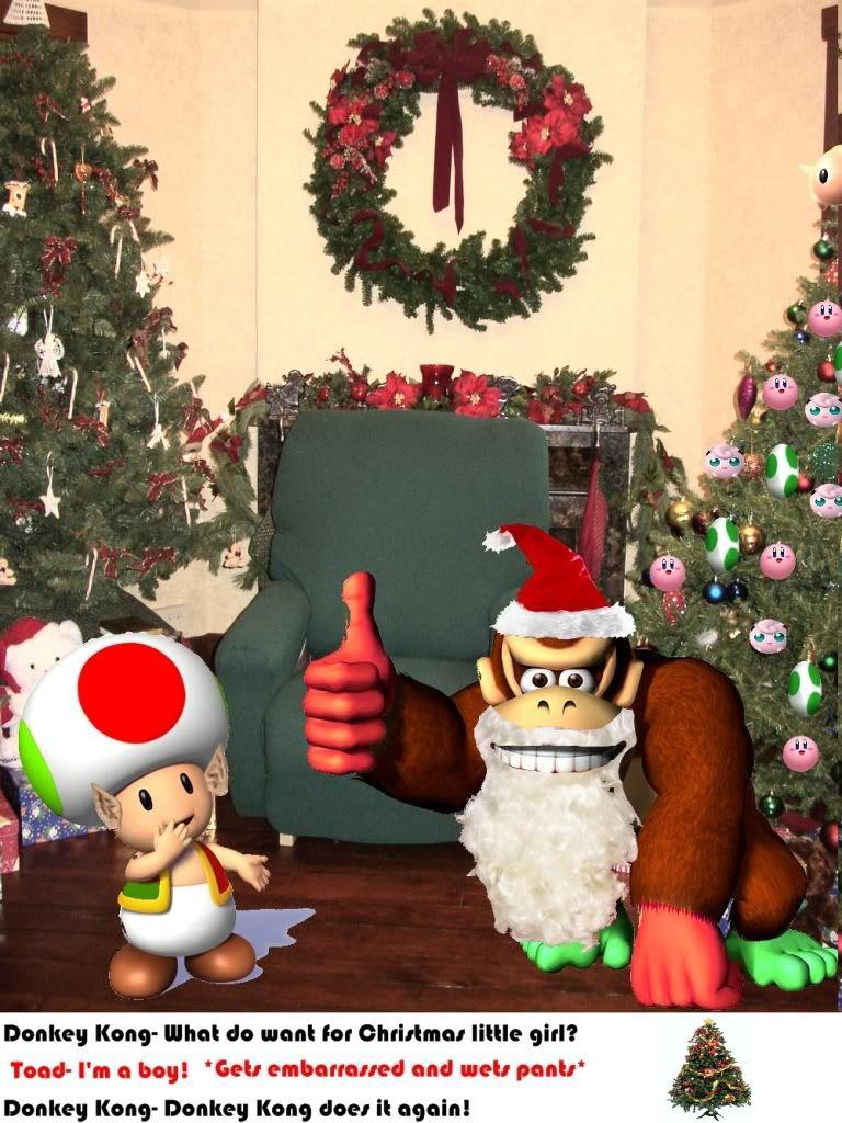Nintendorks Graphics Contest: Christmas [Results Announced!] DKChristmas