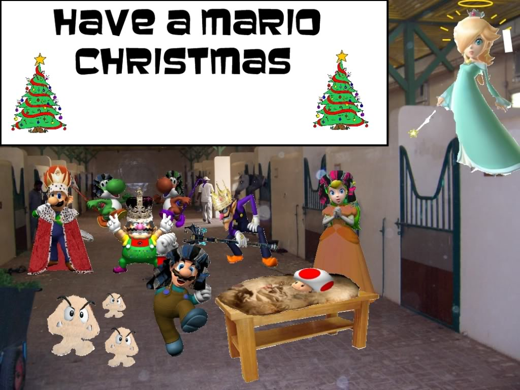 Nintendorks Graphics Contest: Christmas [Results Announced!] - Page 2 Myfirstmariochristmas
