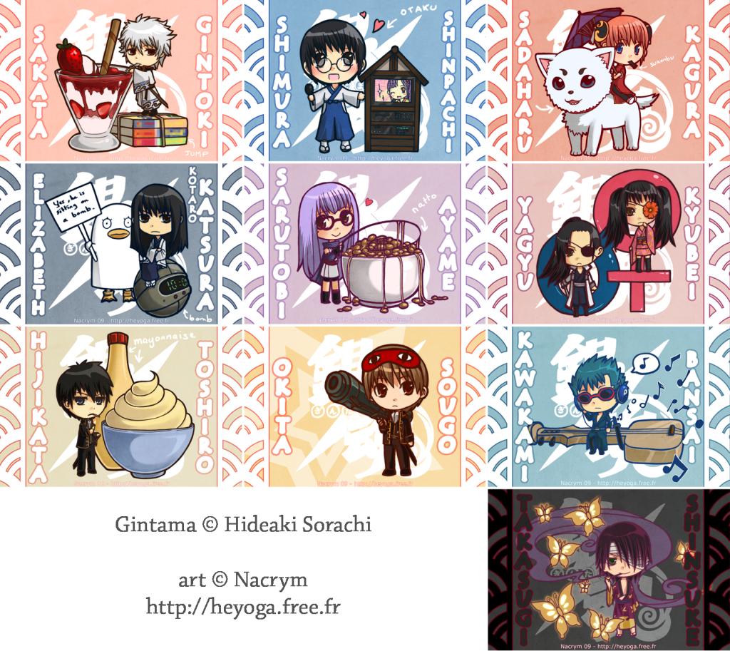 Gintama picture Gintama__Chibi_Collection_by_Nacrym