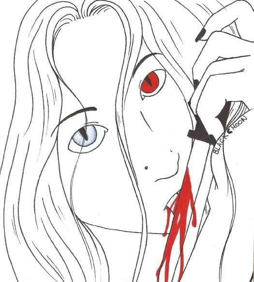 mon Deviant et mes dessins Blood
