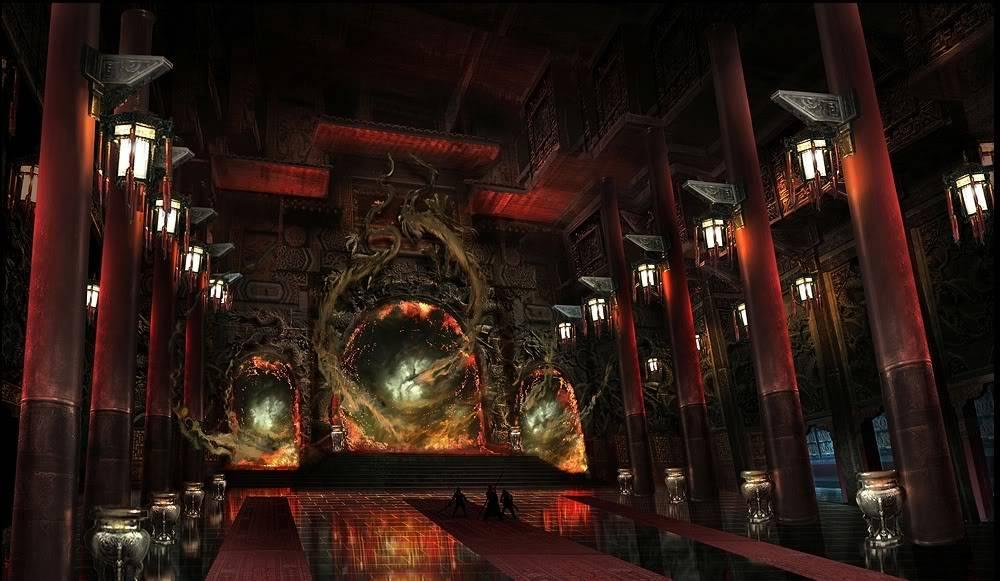 Tempelj EmperorsThroneRoom