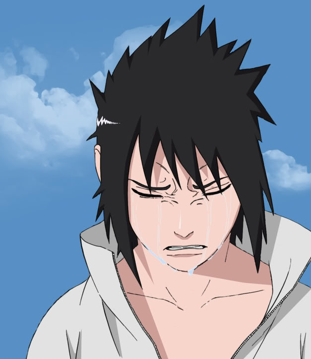 Sitting Alone... SasukeCry