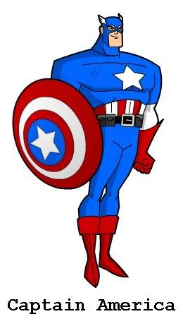 CREA TU PROPIO SUPERHEROE CaptainAmerica