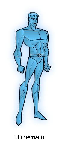 CREA TU PROPIO SUPERHEROE Iceman