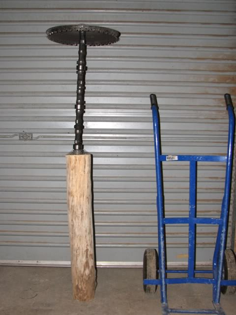 Tiki/hot rod lamp project Tikilamp001