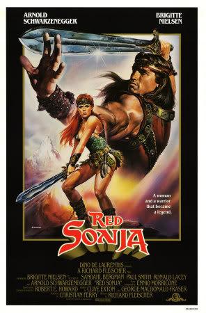 """Alguos artículos sobre """"Conan el bárbaro"""" 503305Red-Sonja-Posters"""