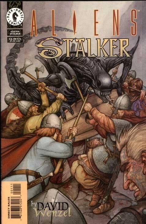 Outlander/ CONAN concept art ALIENS-STALKER