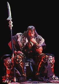 Amazing work about the Milius' movie KingConan2