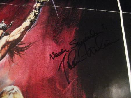 Autographs? MILIUS