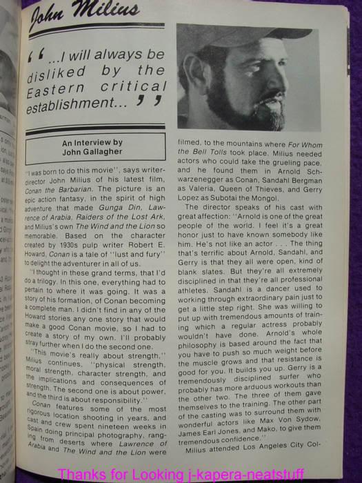 John Milius interviews TVFIR8206A6