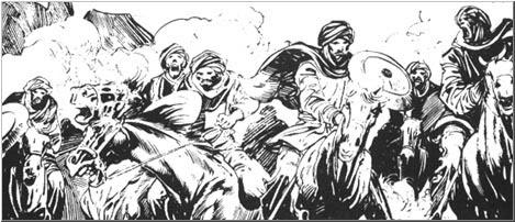 Biografía alternativa Afghuli_horsemen