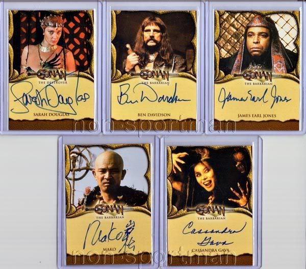Autographs? Conanautographset