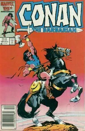 """Alguos artículos sobre """"Conan el bárbaro"""" Conanthebarbarian1970series189"""