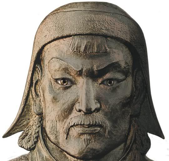 La próxima película de John Milius (GENGHIS KAHN) Genghis-khan-bust