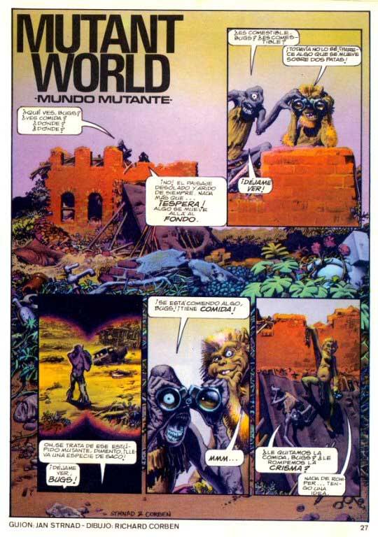 Some Oliver Stone's script possible inspirations I found Mutante
