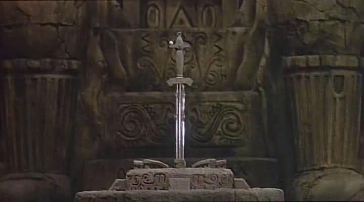 Atlantean Sword scene in Japanese movie Ori14