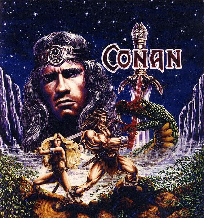 Art by Dan Panosian Popup-Conan-Arnold