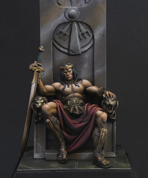 CONAN from CASARO'S POSTER figure Usurper1