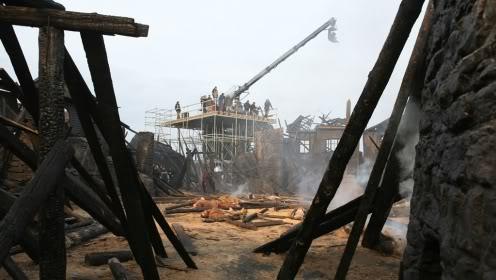 """""""SOLOMON KANE"""" movie Witch_village_rig"""