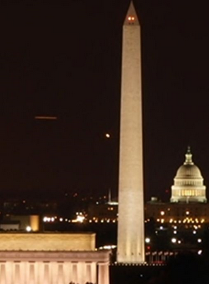 screenshot from a webcam located in Washington DC taken on Monday, 14th February 2011. DCUFO14February2011webcam