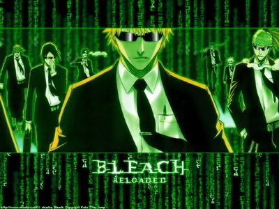 Metal gear Solid 2 Bleach-matrix