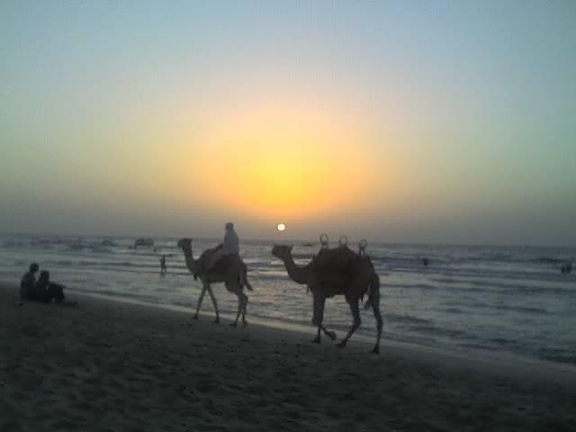 Sunset Jumeirah Beach today at 6pm 03-10-08_1757