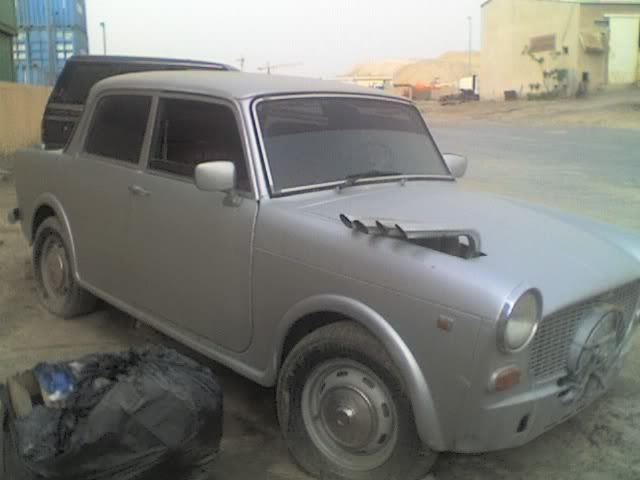 Super Trabant or is it? 27-03-09_1619