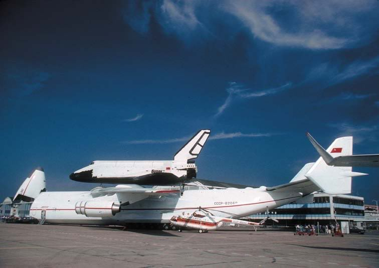 Rolls Royce Heritage Group Open Day - Derby - 12th September Antonov225withBuran1989ParisAirs-1