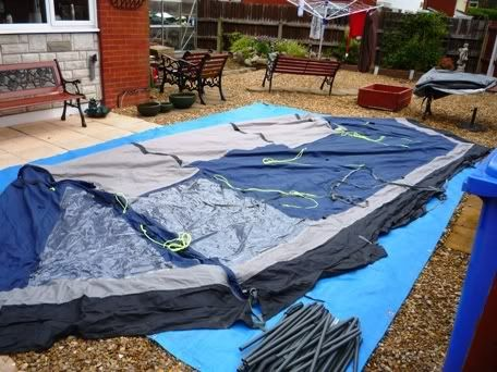 5 man tent for sale P1030148