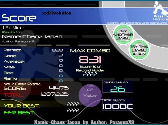 Post your FFR Scores here! - Page 11 ChaozJapan