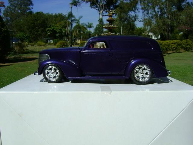 1939 Wagon Rod Purple n Pink 443