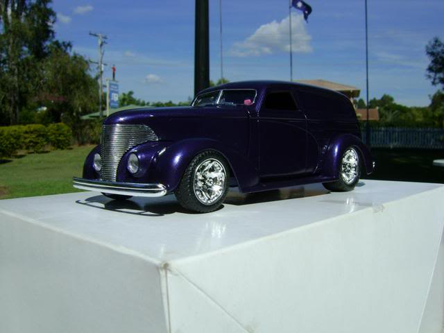 1939 Wagon Rod Purple n Pink 444