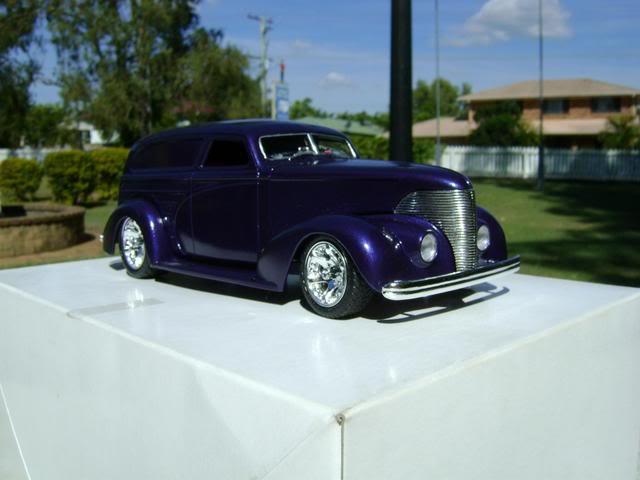 1939 Wagon Rod Purple n Pink 446