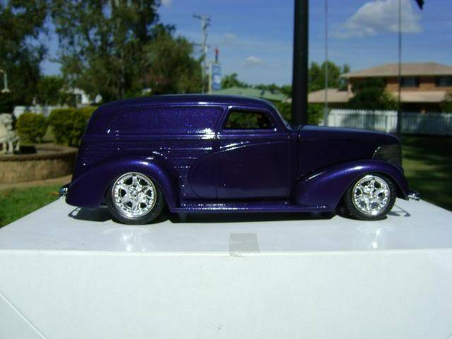1939 Wagon Rod Purple n Pink 447