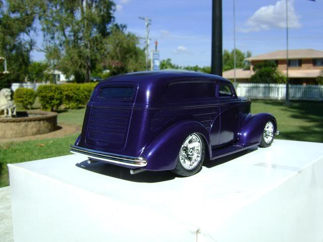 1939 Wagon Rod Purple n Pink 448
