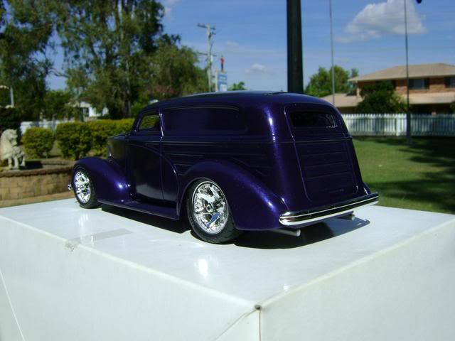 1939 Wagon Rod Purple n Pink 450