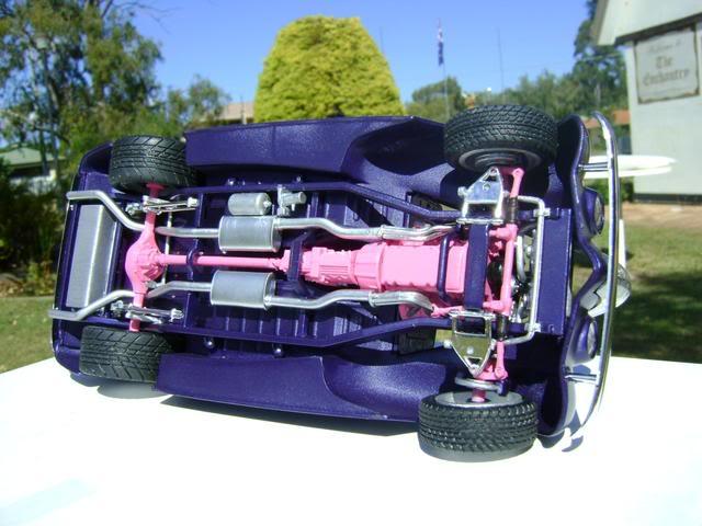 1939 Wagon Rod Purple n Pink 456