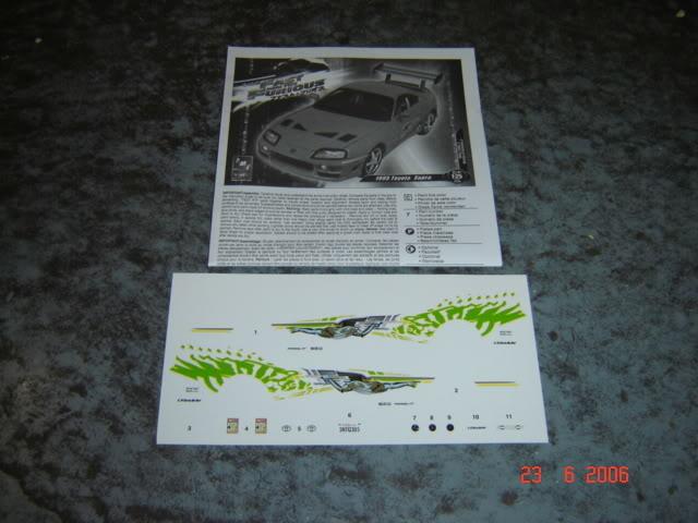 1995 Supra Silver = last Update 31 May 2011 Models585