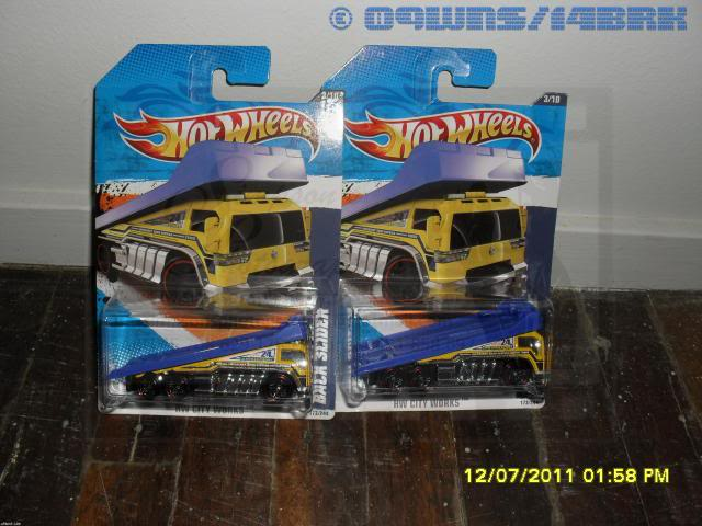 Back Slider Tow Truck (Hot Wheels) 001