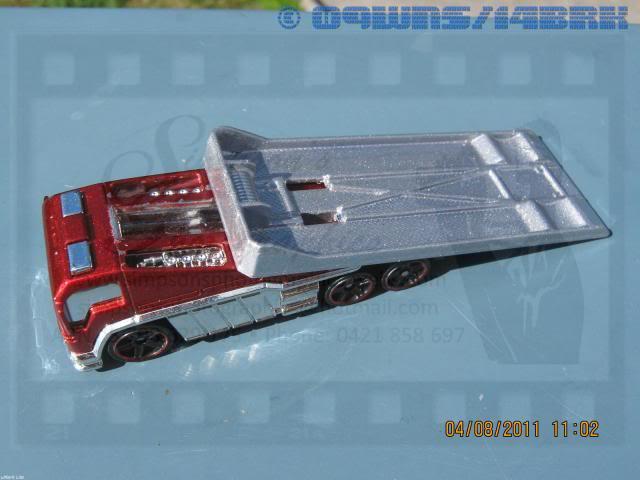 Back Slider Tow Truck (Hot Wheels) 052